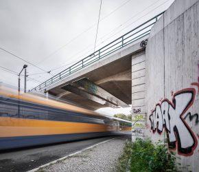 EÜ Wurzener Straße in Leipzig