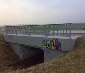 Brücke zum Alten Seebad über den Zauchgraben