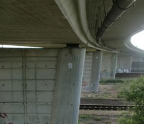 Brücke über die DB-AG – Zörbiger Überbau
