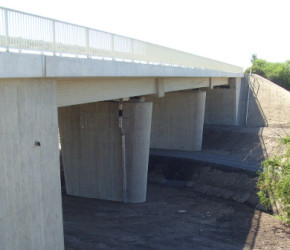 B80 BW101 bei Bennstedt / Würdebachbrücke