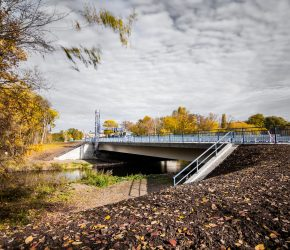 Kleine Elsterflutbrücke – B91 RiFa Merseburg